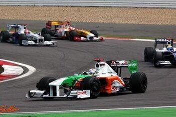 Force India tevreden, ondanks gemiste kans