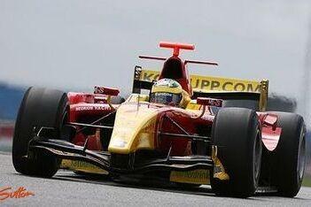 Di Grassi naar eerste pole in Hongarije