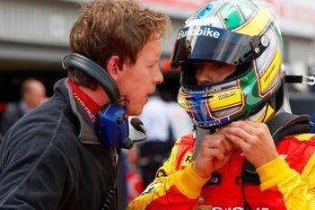 Di Grassi blij met eerste pole-position in GP2