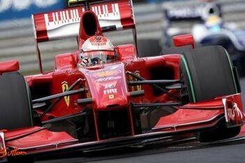 Raikkonen merkte niets van botsing met Vettel