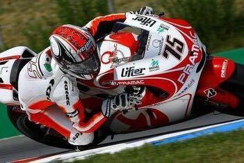 Pasini rijdt eerste meters op MotoGP-machine