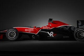 Branson trots op eerste Virgin Racing-bolide