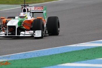 Force India geeft Di Resta extra baantijd