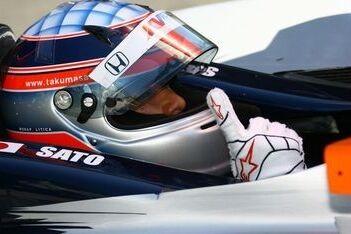 Lotus en Cosworth sponsoren bolide van Sato