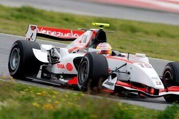 Maldonado ook snelste tijdens test op Barcelona