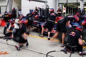 Revolutionaire vesten voor monteurs Red Bull