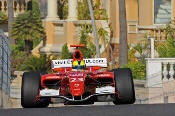 Pentus bovenaan op eerste dag in Monaco