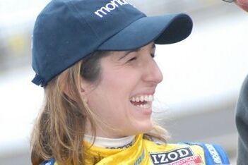Beatriz beste vrouw in kwalificatie Indy 500