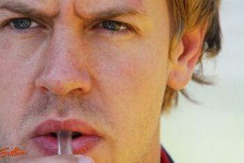"""Vettel: """"Er is nog lang geen reden tot paniek"""""""