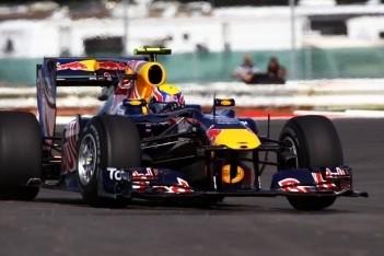 Webber bovenaan in tweede training Silverstone