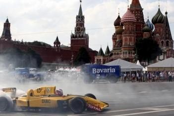 Moskou aast op eerste Russische Grand Prix