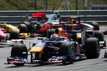 """Vettel: """"Ik werd volledig verrast door de herstart"""""""