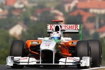Force India positief over nieuw diffusersysteem