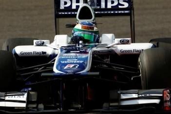 Williams ziet beide auto's in top-tien rijden