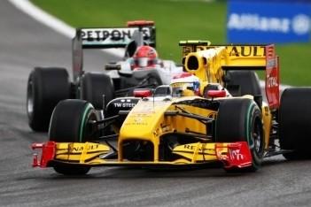 Petrov scoort punten vanaf laatste startrij