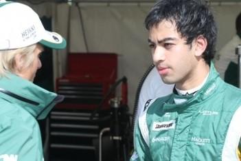 Eerste Formule 1-meters voor 16-jarige Jeffri