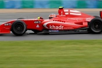 Lancaster vertrekt van pole-position in eerste race