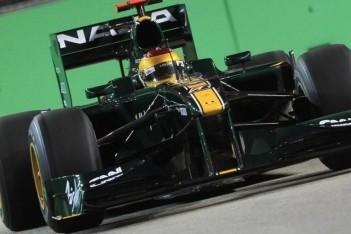 Lotus beste van de nieuwe teams op vrijdag