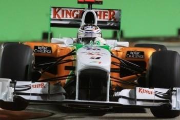 Twintig seconden tijdstraf voor Adrian Sutil
