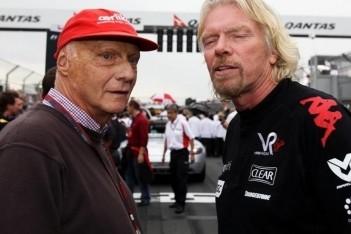 Branson ook in 2011 betrokken bij Virgin Racing