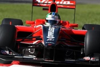 Di Grassi crasht zwaar onderweg naar de grid