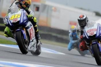 """Valentino Rossi: """"Rijden was haast niet mogelijk"""""""