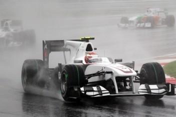 Sauber opnieuw met twee auto's in de punten