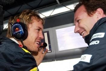 """Horner: """"Vettel geen tweede rijder in laatste races"""""""