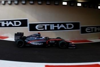 HRT toont betrouwbaarheid aan in Abu Dhabi