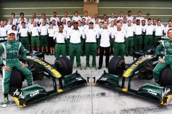 Lotus dolblij met tiende plaats constructeurs