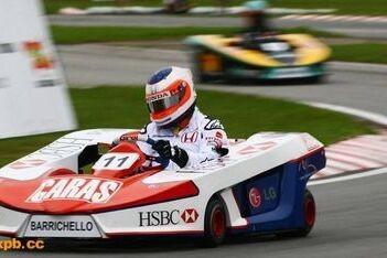 Barrichello en Kanaan vijfde in Granja Viana 500
