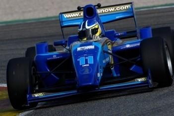 Clarke snelste op eerste testdag Formule 2