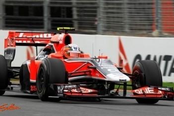 D'Ambrosio finisht eerste Grand Prix als zestiende