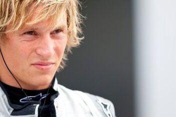 Van der Zande dit jaar met Mercedes in DTM
