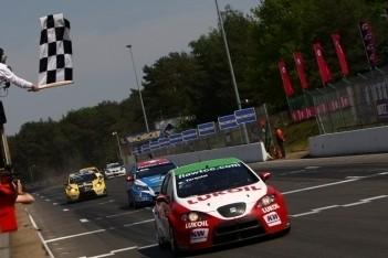 Tarquini de sterkste in tweede race België