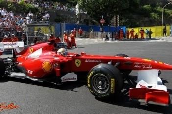Alonso ook in derde training naar snelste tijd