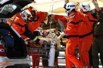 Geen zware verwondingen voor Perez