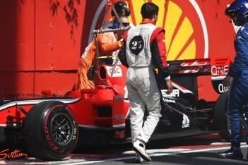 D'Ambrosio baalt van crash in tweede training