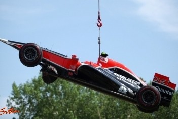 D'Ambrosio krijgt nieuw chassis na crash Montreal