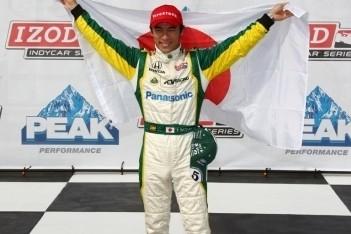 Sato scoort eerste pole-position in IndyCars