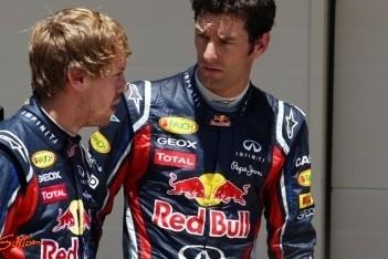 Webber op nippertje naar eerste startrij