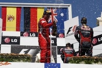"""Alonso: """"Goed om voor een Red Bull te finishen"""""""