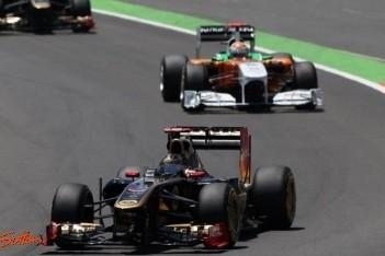 Lotus Renault verlaat Valencia met maar één punt