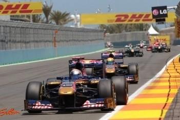 Toro Rosso wil achtste worden in kampioenschap