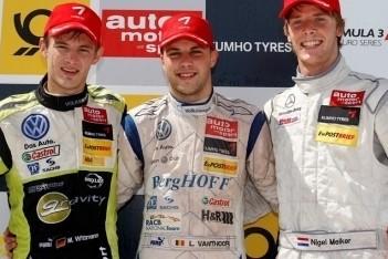 Eerste zege Vanthoor in Formule 3 Euroseries