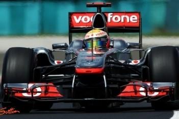Hamilton positief ondanks missen pole-position
