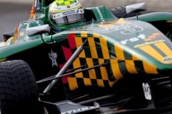Calado op opdrogende baan naar pole-position