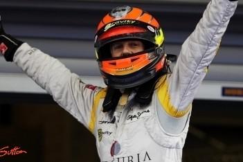 Grosjean pakt GP2-titel na uitvallen Van der Garde