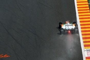 Force India-coureurs maken zootje van kwalificatie