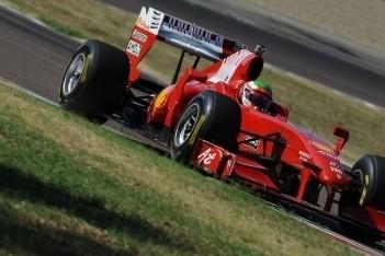 Perez en Bianchi in actie voor Ferrari